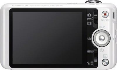 Компактный фотоаппарат Sony Cyber-shot DSC-WX60 White - вид сзади