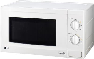 Микроволновая печь LG MS2021F - общий вид