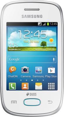 Смартфон Samsung S5312 Galaxy Pocket Neo Duos White (GT-S5312 RWASER) - вид спереди