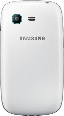 Смартфон Samsung S5312 Galaxy Pocket Neo Duos White (GT-S5312 RWASER) - вид сзади