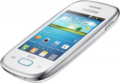 Смартфон Samsung S5312 Galaxy Pocket Neo Duos White (GT-S5312 RWASER) - под наклоном