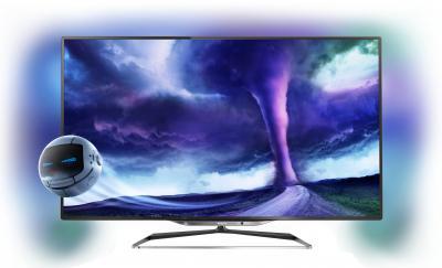 Телевизор Philips 55PFL8008S/60 - общий вид