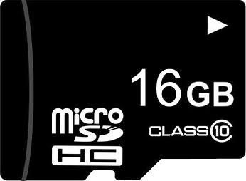 Карта памяти Mirex microSDHC (Class 10) 16GB (13612-MC10SD16) - общий вид