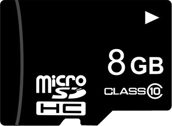 Карта памяти Mirex microSDHC (Class 10) 8GB (13612-MC10SD08) - общий вид