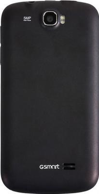 Смартфон Gigabyte GSmart GS202+ Gray - вид сзади