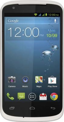 Смартфон Gigabyte GSmart GS202+ (белый) - вид спереди