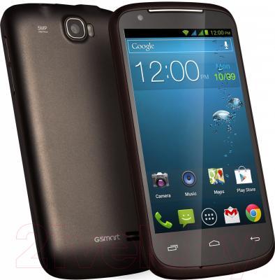 Смартфон Gigabyte GSmart GS202+ (коричневый)
