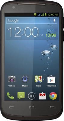 Смартфон Gigabyte GSmart GS202+ (коричневый) - вид спереди