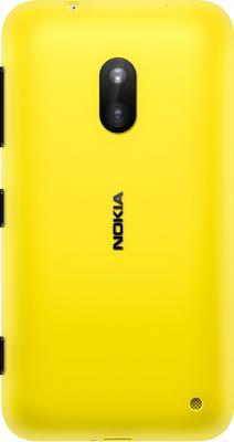 Смартфон Nokia Lumia 620 Yellow - вид сзади