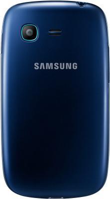 Смартфон Samsung S5312 Galaxy Pocket Neo Duos Dark Blue - вид сзади