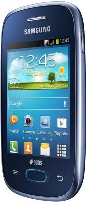 Смартфон Samsung S5312 Galaxy Pocket Neo Duos Dark Blue - вполоборота