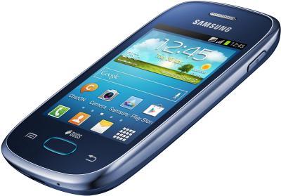 Смартфон Samsung S5312 Galaxy Pocket Neo Duos Dark Blue - под наклоном