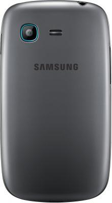 Смартфон Samsung S5312 Galaxy Pocket Neo Duos Silver - вид сзади