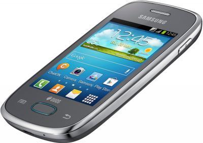 Смартфон Samsung S5312 Galaxy Pocket Neo Duos Silver - под наклоном