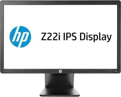 Монитор HP Z22i - фронтальный вид
