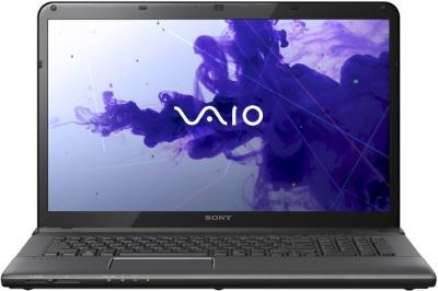 Ноутбук Sony VAIO SVE1713A4RB - фронтальный вид