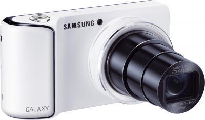 Компактный фотоаппарат Samsung GC110 (EK-GC110ZWASER) White  - общий вид