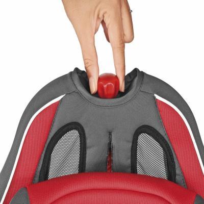 Автокресло Chicco Neptune (Red) - ручка для регулеровки высоты подголовника и ремней безопасности