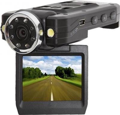 Автомобильный видеорегистратор GoClever DVR FULL HD IR - дисплей