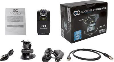 Автомобильный видеорегистратор GoClever DVR FULL HD IR - комплектация