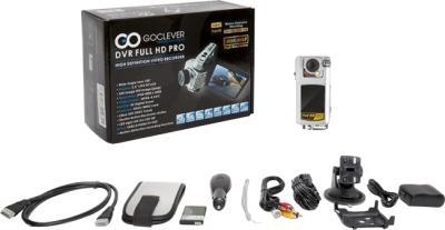 Автомобильный видеорегистратор GoClever DVR FULL HD PRO - комплектация