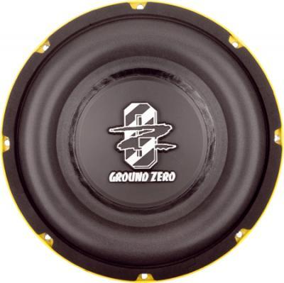 Головка сабвуфера Ground Zero Radioactive GZRW 25SPL - общий вид