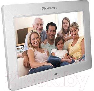 Цифровая фоторамка Rolsen RDF-800W