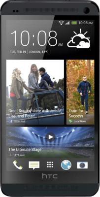 Смартфон HTC One Dual (черный) - общий вид