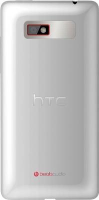 Смартфон HTC Desire 600 White - задняя крышка