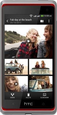 Смартфон HTC Desire 600 White - общий вид
