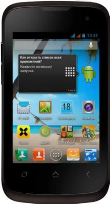 Смартфон Fly IQ430 Evoke Black - общий вид