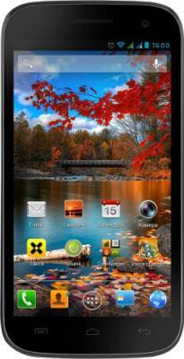 Смартфон Fly IQ451 Vista Black - общий вид