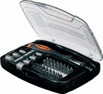 Универсальный набор инструментов Black & Decker A-7062 (40 предметов) - общий вид