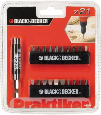 Набор оснастки Black Decker A-7074 (21 предмет) - общий вид