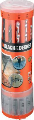 Набор оснастки Black & Decker A-7102 (23 предмета) - общий вид