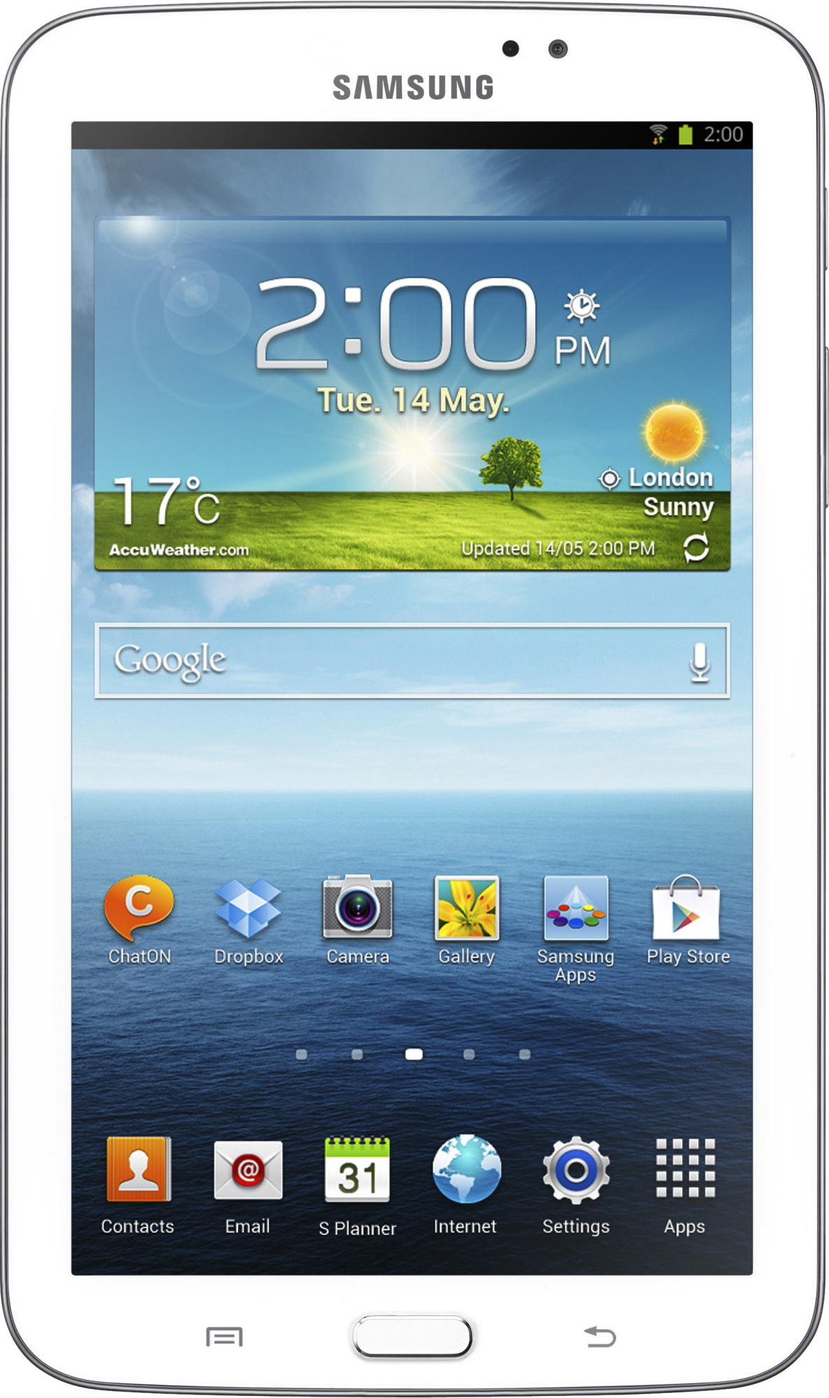 Galaxy Tab 3 7.0 8Gb White (SM-T210) 21vek.by 2287000.000