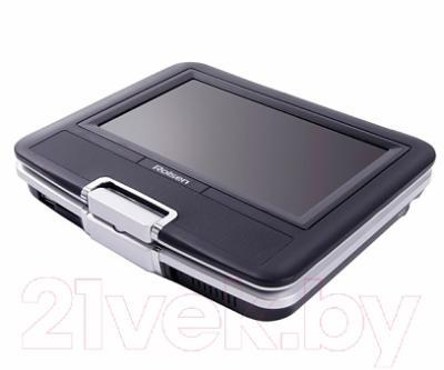 Портативный DVD-плеер Rolsen RPD-7D05G (серебристый)