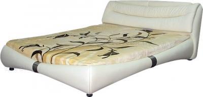 Двуспальная кровать Королевство сна Harmony K1631 160x200 (светло-бежевый) - общий вид