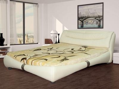 Двуспальная кровать Королевство сна Harmony K1631 180x200 (светло-бежевый) - в интерьере