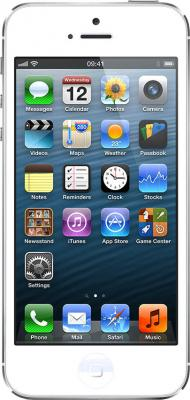 Смартфон Apple iPhone 5 (16Gb) White - общий вид