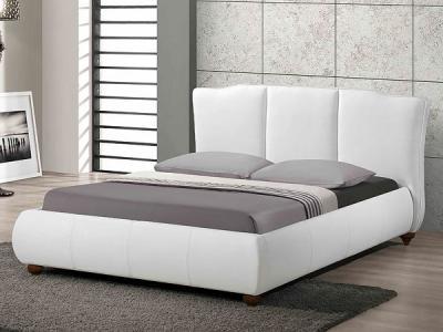 Двуспальная кровать Королевство сна LONTARO (160x200 белая) - в интерьере
