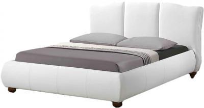 Двуспальная кровать Королевство сна LONTARO (180x200 белая) - общий вид