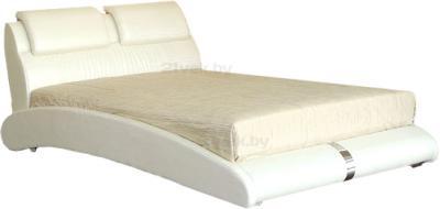 Двуспальная кровать Королевство сна BOLD (160x200 жемчужная) - общий вид