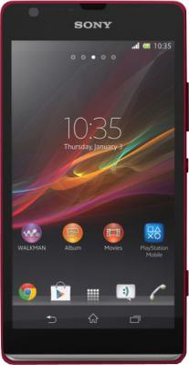 Смартфон Sony Xperia SP (C5303) Red - общий вид