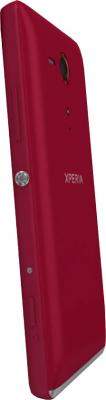 Смартфон Sony Xperia SP (C5303) Red - боковая панель