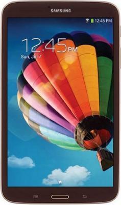 Планшет Samsung Galaxy Tab 3 8.0 16GB Brown (SM-T310) - фронтальный вид