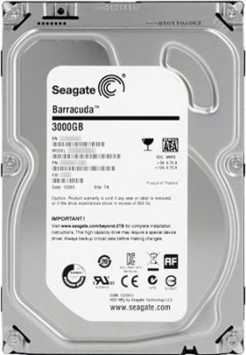 Жесткий диск Seagate Barracuda 3TB (ST3000DM001) - общий вид