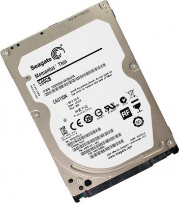 Жесткий диск Seagate Momentus Thin 500GB (ST500LT012) - общий вид
