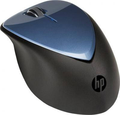 Мышь HP X4000 Wireless Mouse (H1D34AA Blue) - общий вид