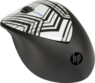 Мышь HP X4000 Wireless Mouse (H2F41AA Zebra) - общий вид